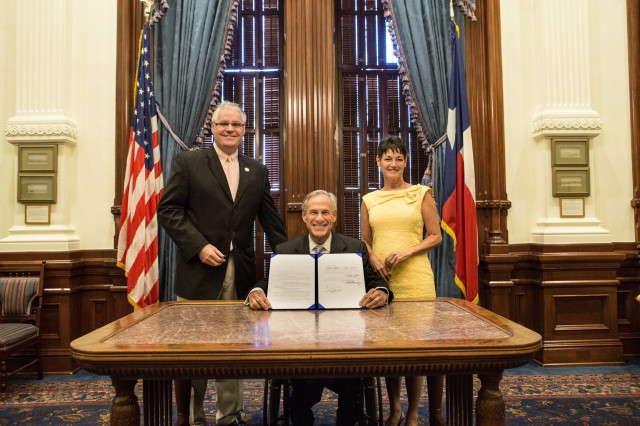 Governor Abbott presents legislation reform municipal annexation process.