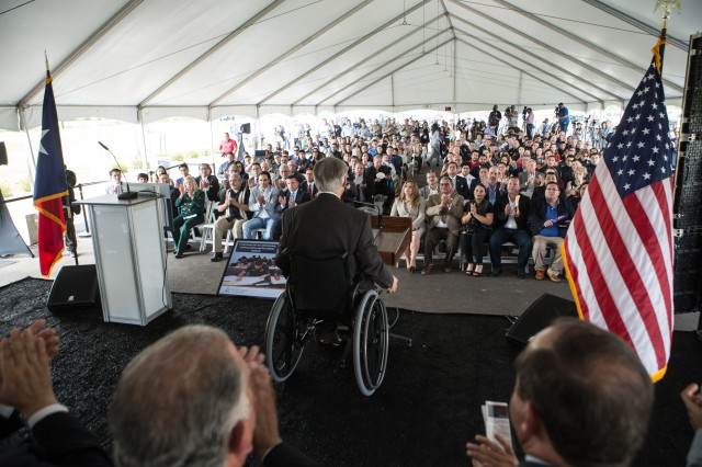 Governor Abbott Attends South Texas College Regional Center For Public Safety Excellence Building Dedication Ceremony Image