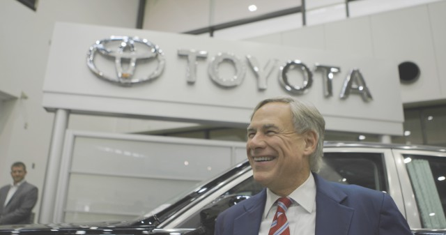 Governor Greg Abbott tours Toyota Motor Corporation's Kaikin and Motomachi assembly plants in Toyota, Japan.