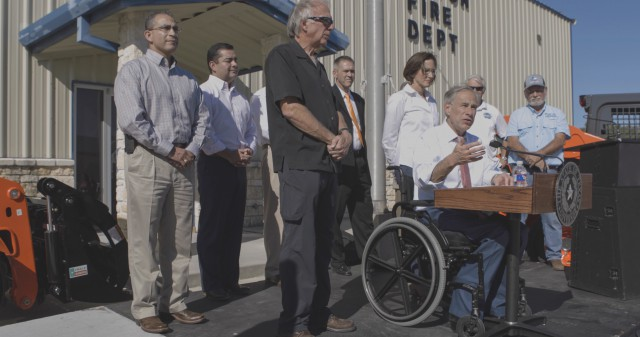 Governor Abbott Joins Kubota To Announce Hurricane Relief Donation Image