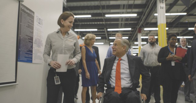 Governor Abbott Attends Grand Opening Of New Amazon Fulfillment Center Image