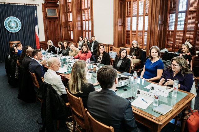 Sexual Assault Survivors' Task Force Holds Inaugural Meeting In Austin