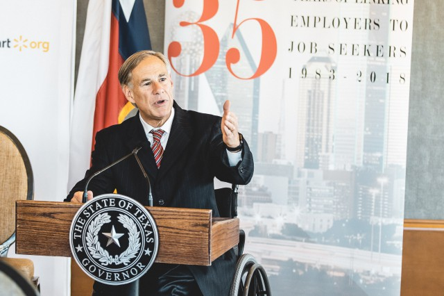 Governor Abbott Announces Workforce Development Grant In Dallas
