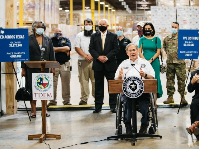 Governor Abbott Provides an Update on PPE to Texas Schools