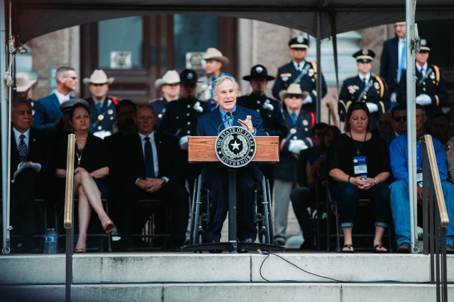 Governor Abbott Honors Texas Peace Officers At Memorial Ceremony Image