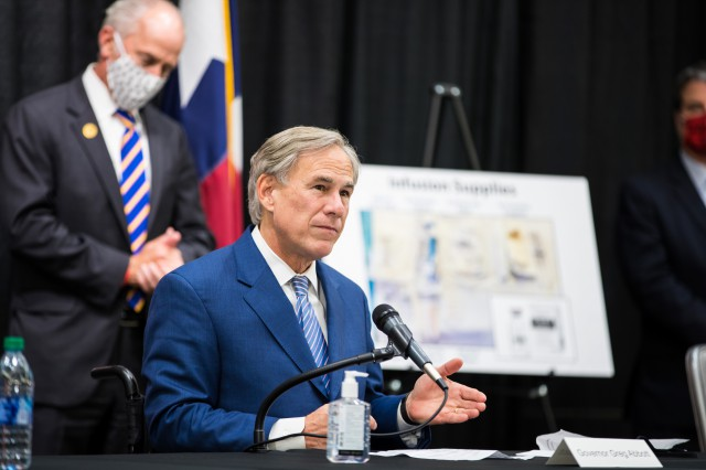 Governor Abbott Provides Update On Bamlanivimab Distribution To Hospitals Across Texas