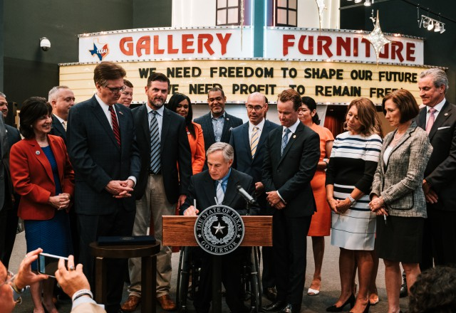 Gov. Abbott signed into law several monumental bills related to disaster relief and preparedness in Texas.