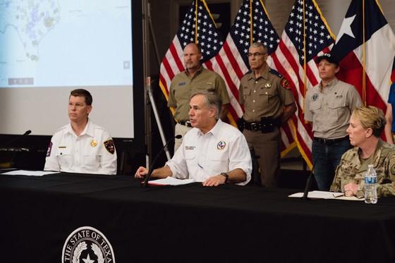 Governor Abbott Holds Briefing On Tropical Storm Cristobal, Provides Update On Hurricane Preparedness