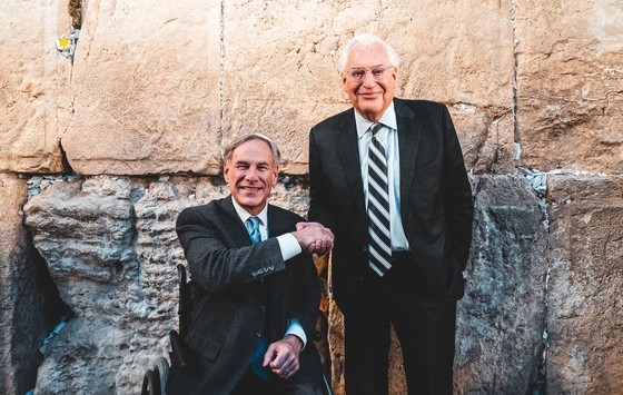 Governor Abbott Visits U.S. Embassy, Western Wall In Jerusalem