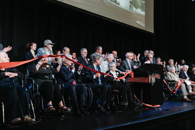 Governor Greg Abbott attends and delivered remarks at the grand opening of the new Dallas Holocaust and Human Rights Museum.