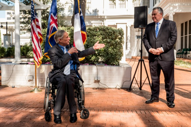 Governor Abbott delivered remarks at the 2019 Great Mates Australia-Texas Barbecue at the Governor's mansion in Austin.