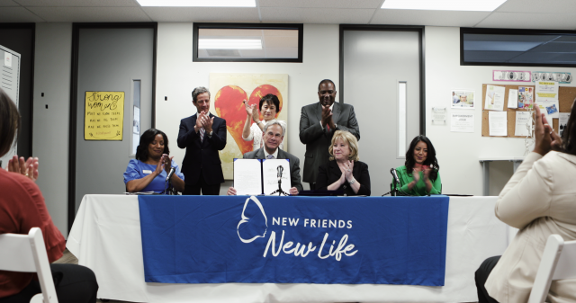 Governor Abbott signs law several bills related to combating human trafficking and reducing the rape kit backlog in Texas.