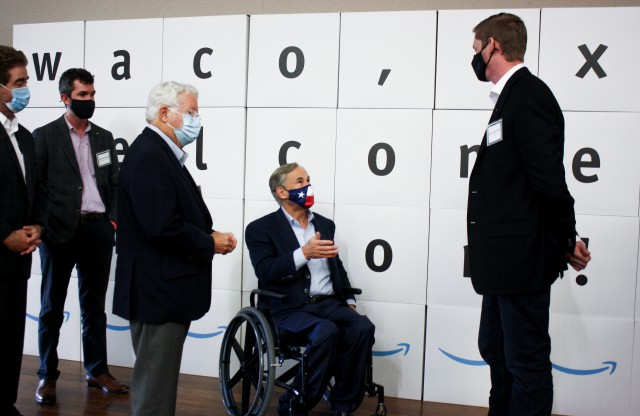 Governor Abbott Delivers Remarks At New Amazon Fulfillment Center In Waco