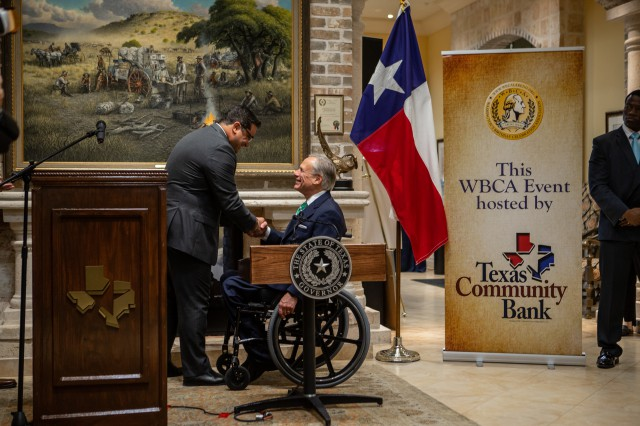 Governor Abbott Named Mr. South Texas 2019 Image