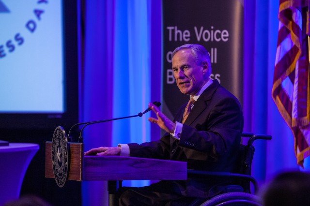 Governor Abbott delivers remarks at  National Federation Of Independent Business' Texas Small Business Day Conference
