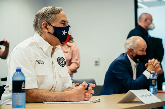 Governor Abbott Visits Lubbock To Hold Briefing With Local Leaders, Provide Update On COVID-19 Response