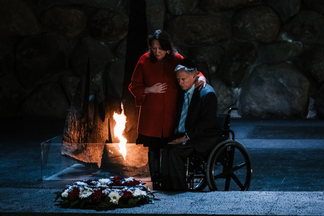 Governor Abbott Lays Wreath At Yad Vashem Holocaust Museum in Jerusalem, Tours City of David Pilgrimage Road