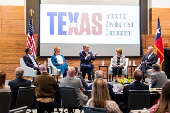 Governor Abbott Participates In Fireside Chat At Texas Economic Development Corporation Summit In Midland