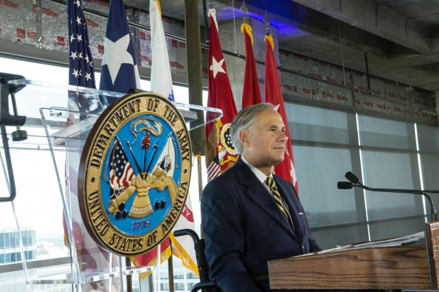 Governor Abbott Attends U.S. Army Futures Command Activation Ceremony Image