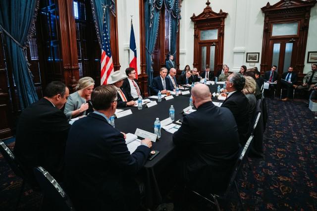 Governor Abbott Convenes Domestic Terrorism Task Force Image