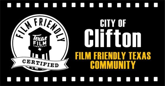 Governor Abbott Announces Film Friendly Texas Designation For The City Of Clifton