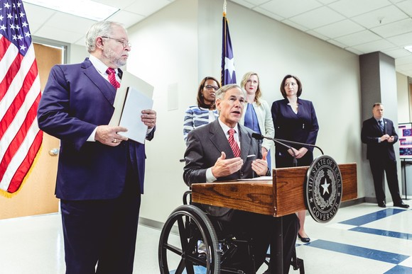 Governor Abbott, DSHS Announce Statewide Testing Capabilities For Coronavirus