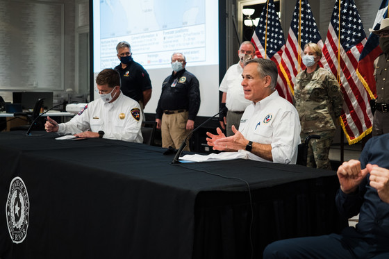 Hurricane Hanna Press Conference