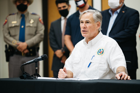 Governor Abbott Visits The RGV to Announce Additional COVID-19 Resources, Survey Hurricane Hanna Damage